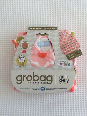 Grobag 6-18 Months Baby Sleeping Bag 2.5 TOG Girls By Orla Kiely