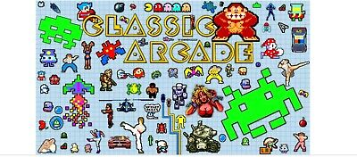 RETRO ARCADE FOR the PC, nearly 7000 classic arcade games +