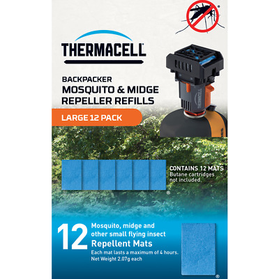 Thermacell Large Mosquito Repellent Mat Refill Pack (12 Mats)