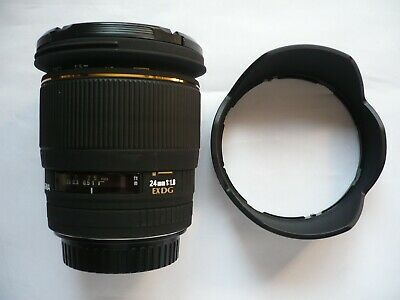 Sigma EX DG 24mm f/1.8 for Canon  EF/EFs