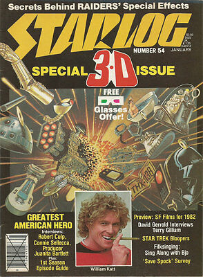 Starlog n°54 January 1982 without glasses (sans les lunettes)