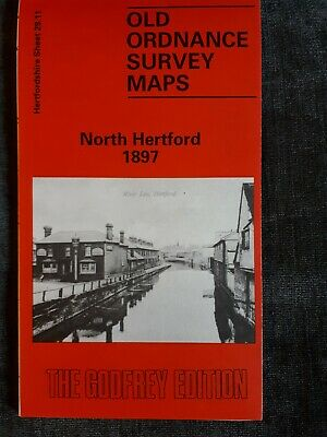 Old Ordnance Survey Map - North Hertford 1897 - Alan Godfrey Map