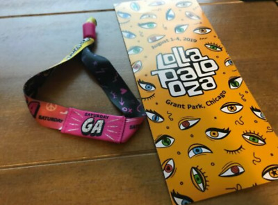 Lollapalooza Saturday Tickets (2 tickets available @ $175 each)