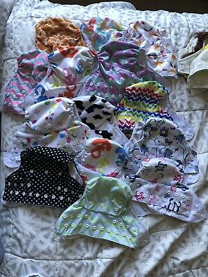 Pre Owned Cloth Diaper Lot