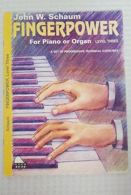 Fingerpower: For Piano or Organ (Level Three)A Set of Progressive Tech Exercises