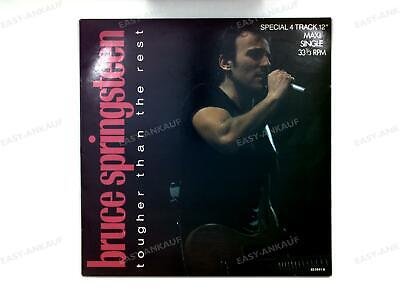 Bruce Springsteen - Tougher Than The Rest Europe Maxi 1988 .
