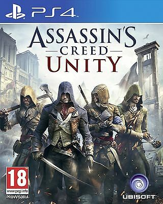 Assassin's Creed Unity (Ps4 Game)