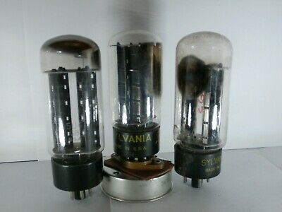 5U4GB Vacuum Tube Lowe New Old Stock NOS 5AS4A Vintage Electronic Radio TV