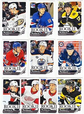 2018-19 Upper Deck Parkhurst ROOKIES Lot of 20 RC Cards SEE LIST Tkachuk Dube