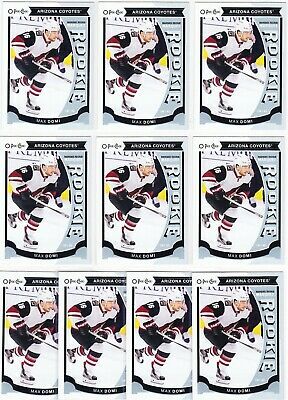2015-16 Upper Deck Series 2 MAX DOMI Marquee Rookie U35 Lot of 10 RC Cards