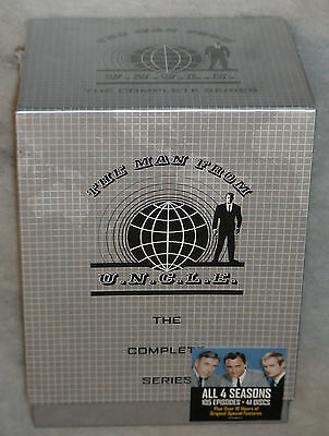The Man From U. N.C. L. E. (Uncle ) Serie Completa 41 DVD Box Set Nuevo Sellado