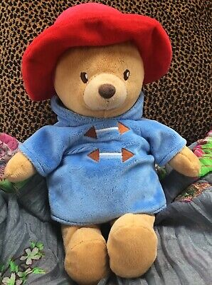 Paddington Bear in red hat, blue coat Classic Soft Toy Baby /Childs Easter Gift