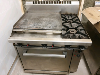 Waldorf gas oven burners and grill