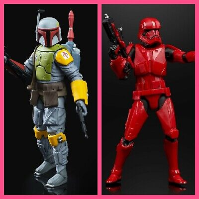 Hasbro Black Series Boba Fett and Sith Trooper SDCC 2019 Exclusive Star Wars