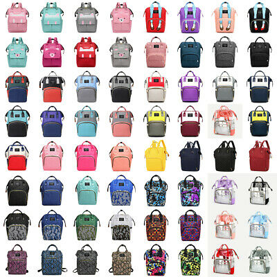 Diaper Nappy Changing Mummy Bags Large Rucksack Maternity Backpack Satchel Totes