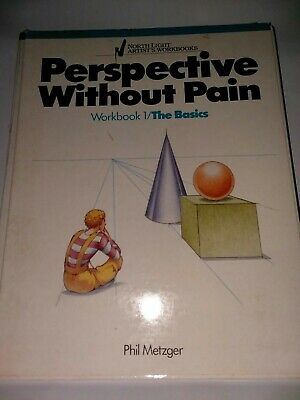 North Light Artist's Workbooks Perspective Without Pain Work Book 1, 2, 4
