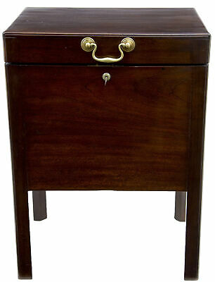 19Th Century Antique Mahogany Wine Cooler