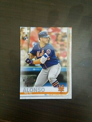 2019 Topps All Star Game Foil Stamp Pete Alonso RC HR Home Run Derby Champ Rare