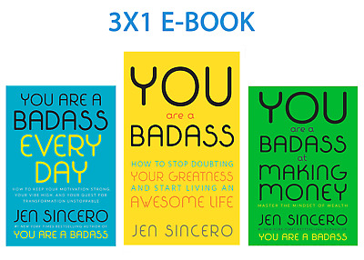 3x1 You Are a Badass:  How to Stop Doubting+ Making Money+ Every Day | PDF, EPUB