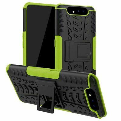 Fits Samsung Galaxy A80/A90 Shockproof Rugged Hybrid Armor Rubber Case Cover