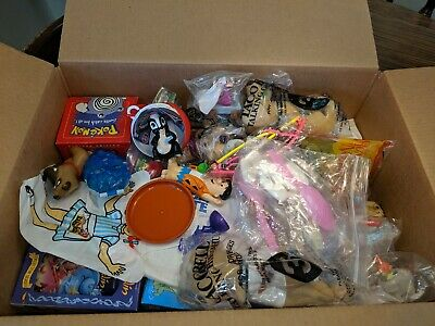 Taco Bell, McDonald's, Burger King, Denny's, Wendy's Happy Meal Toys     (12)
