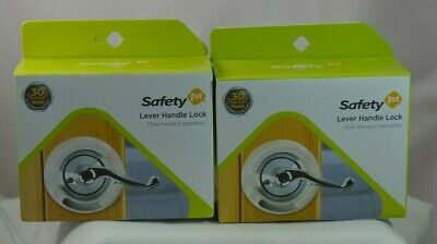 New 2 Pack Safety 1St Lever Handle Lock 48400 Fast-Free Shipping