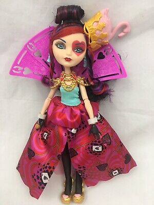 ❤️Ever After High, Way To Too Wonderland, Lizzie Heart Doll Queen Of Hearts❤️GUC