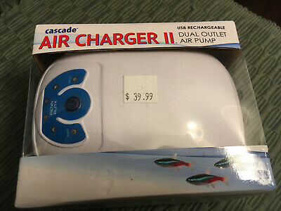 Cascade Air Charger II - 2 Outlet Rechargeable Air Pump