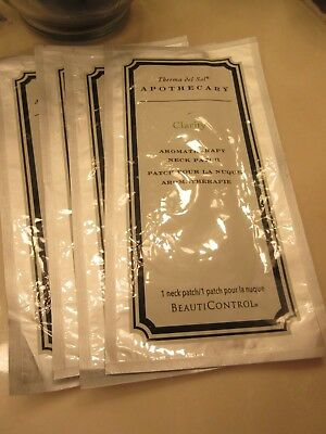 BeautiControl Therma Del Sol Apothecary Clarity Aromatherapy Neck Patches! 4
