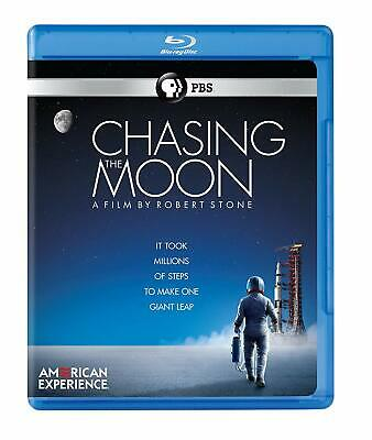 American Experience Chasing the Moon Robert Stone Blu-ray Number of discs: 3 NEW
