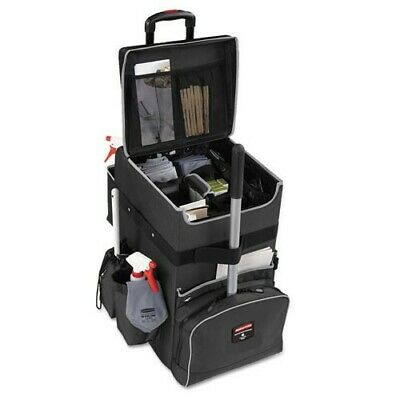 Rubbermaid Commercial Dark Gray Large Executive Quick Cart (#143011455975)
