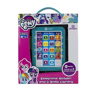 My Little Pony Electronic Story Me Reader and 8 Book Library