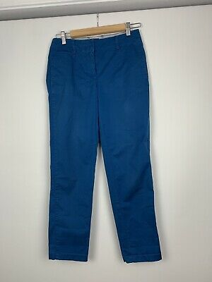 Sportscraft Womens Size 6 Slim Pants Blue Business Work Wear