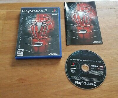 Spider Man 3  Spiderman game Sony PS2 Playstation 2 UK  Pal