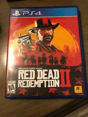 Red Dead Redemption 2 II (PlayStation 4, 2018) PS4, RDR2, RDRII