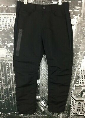 Alexander Wang x H&M Pants, Size AU 12, EUR 30, Black & Navy, Polyamide/Cotton