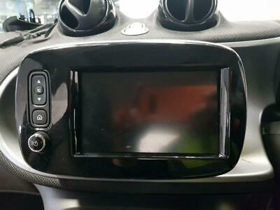 MULTIFUNCTION DISPLAY Smart Forfour 2015 On Clock Screen & WARRANTY - 11002310
