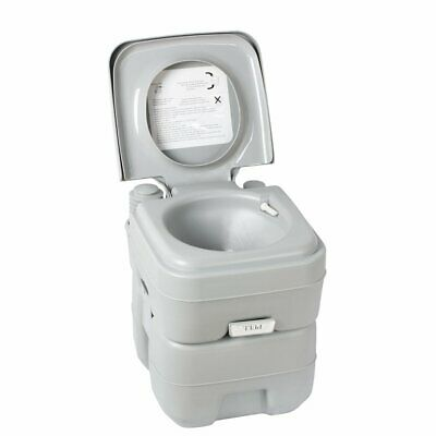 Portable Camping Toilet  20L Flush Potty for Outdoor Caravan Boats Travel Hiking
