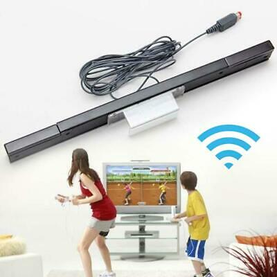Sensor Bar Wired Infrared Signal Ray Receiver w/ Stand For Nintendo WII Remote *