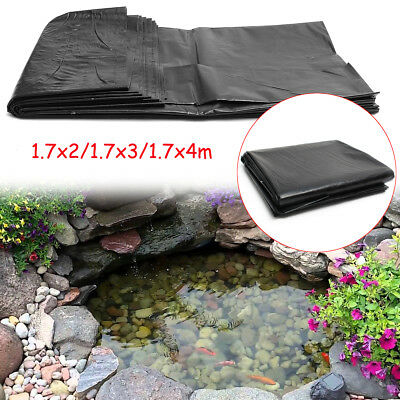 1.7M HDPE Fish Pond Liner Gardens Pool Membrane Reinforced Pools Landscaping
