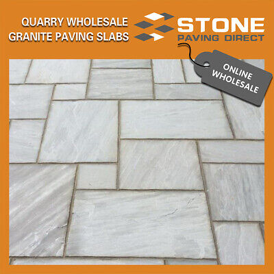 Sandstone Paving Slabs Kandla Grey | 900x600x22mm I China & Indian Stone Experts