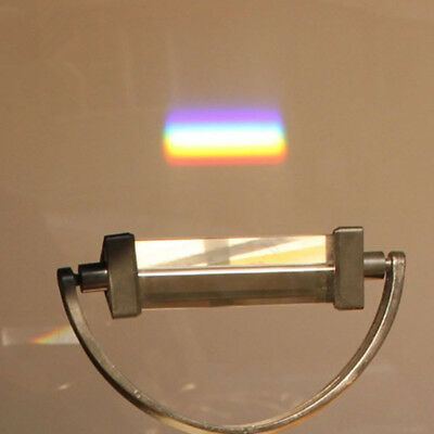 Crystal Glass Triple Triangular Equilateral Prism Physics Teach Light Spectrum