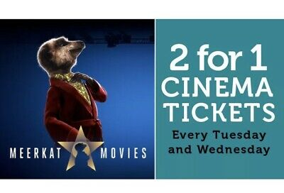 Meerkat Movies 2 For 1 Cinema Code *instant*