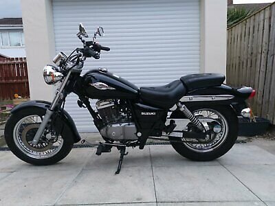 Black Suzuki Marauder GZ125 2009 Learner Legal Cruiser
