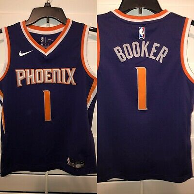 super popular ef9f4 aad7b PHOENIX SUNS DEVIN Booker City Edition SwingMan Jersey ...
