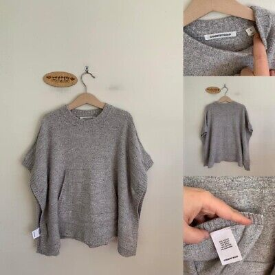 Sz S (To Fit Approx 5-8) Country Road Grey Poncho