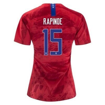 Megan Rapinoe #15 USA WOMENS Red 2019 World Cup SOCCER JERSEY