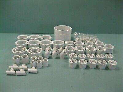 Large Lot Miscellaneous Spears PVC Schedule 40 Fitting(s) NEW P21 (2461)