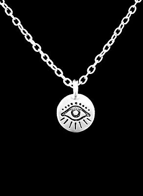 Evil Eye Necklace Protection Good Luck Protection Charm Jewelry
