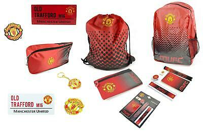 Official Man United Football Club Boys Accessories Gifts